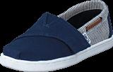 Toms - Infant Navy Canvas/Stripes Navy