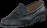 Sebago - Plaza Penny Black Leather