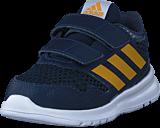 adidas Sport Performance - Altarun Cf I Collegiate Navy/Tactile Yellow