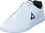 Le Coq Sportif - Courtone Gs S Lea Optical White/Vitage Red