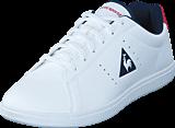 Le Coq Sportif - Courtone Gs S Lea Optical White/Vitage Red