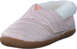 Toms - House Slipper Tiny Pink Metallic Woven