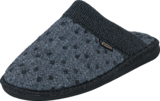 Hush Puppies - Textile Slipper Black