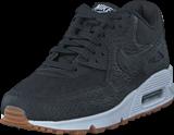 Nike - Air Max 90 Premium Shoe Black/black-gum Yellow-white