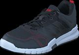 adidas Sport Performance - Essential Star 3 M Carbon/Core Black/Hi-Res Red