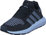 adidas Originals - Swift Run C Core Black/Silver Met/White