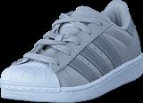 adidas Originals - Superstar C Lgh Solid Grey/Silver Met/Wht