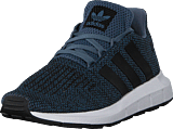 adidas Originals - Swift Run C Raw Steel S18/Core Black