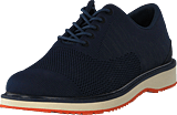 Swims - Barry Oxford Knit Navy Melange/Orange
