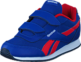 Reebok Classic - Royal Cljog 2 2V Sport-Collegiate Royal/Red/Nav