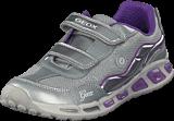 Geox - Jr Shuttle Silver/lilac