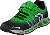 Geox - J Shuttle Black/green