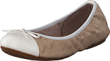 Butterfly Twists - Olivia Beige/white