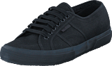 Superga - 2750-cotu Classic Total Black
