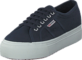Superga - 2790-cotw Linea And Down Navy-fwhite