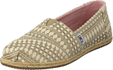 Toms - Alpargata Oxford Tan Diamond Tribal Rope