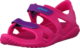 Crocs - Swiftwater River Sandal K Paradise Pink/amethyst