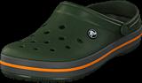 Crocs - Crocband Forest Green/slate Grey
