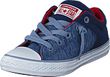 Converse - Ct All Star High Street Slip Navy/glacier Grey/white